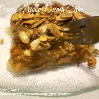 Penny's Apple Dump Cake