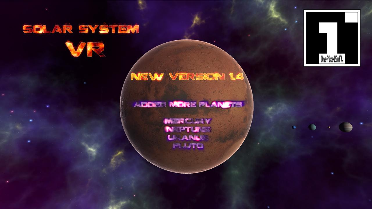 VR Solar System- screenshot