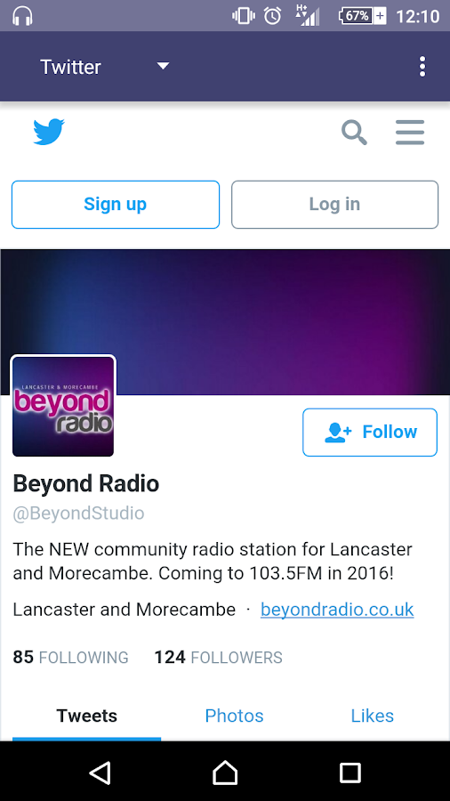 Beyond Radio- screenshot