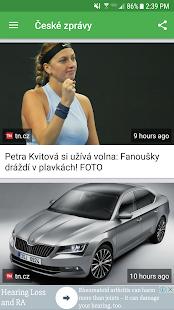 České zprávy - náhled