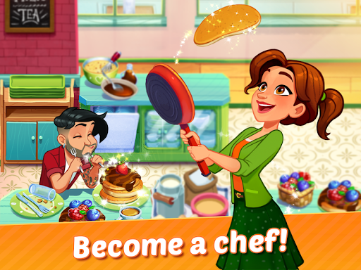 Delicious World - Romantic Cooking Game apkmr screenshots 9