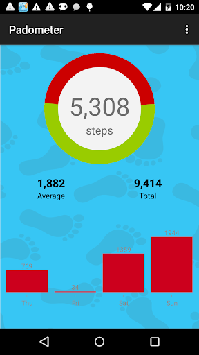 Keep Walking Pedometer