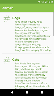Tips Likes with Hashtags - náhled