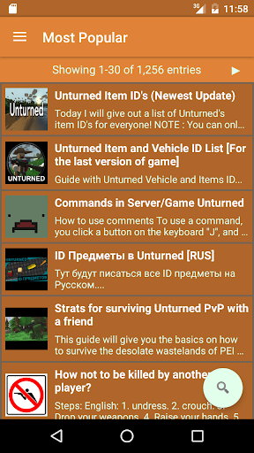 Guides: Unturned