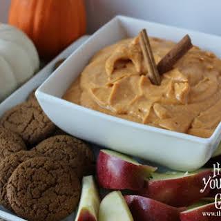 Pumpkin Cheesecake Dip.