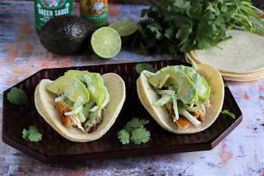 Blackened Tilapia Baja Tacos Recipe