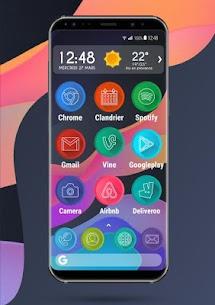 Apolo Circle – Theme, Icon pack, Wallpaper 2