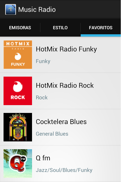 Music Radio- screenshot