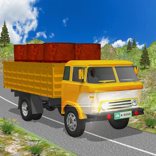 瘋狂的 越野 貨物 3D 卡車 模擬 App LOGO-硬是要APP