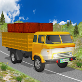 Cargo Truck Off Road Hill Driving Simulator