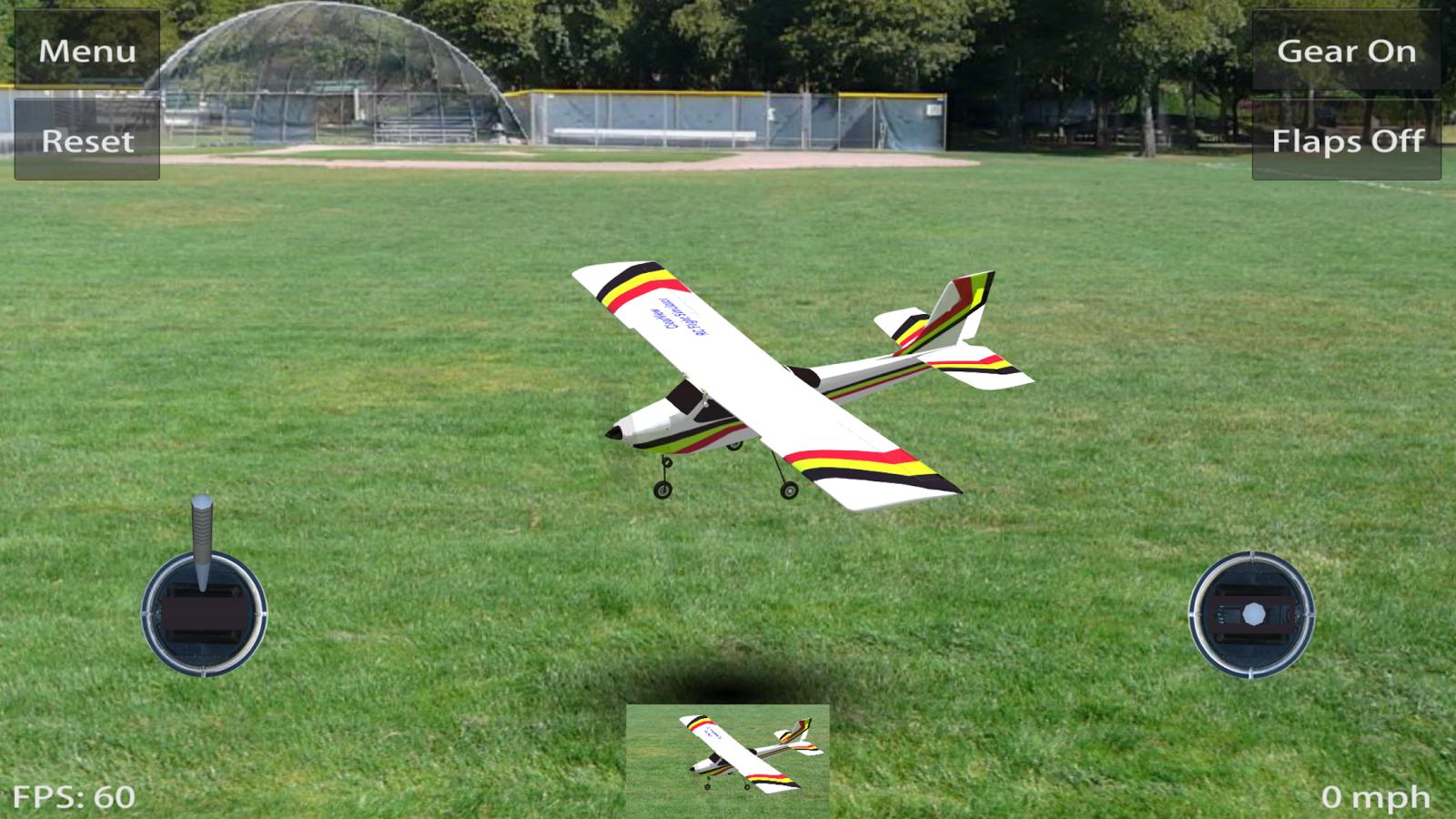 Screenshots of Absolute RC Plane Sim for Android
