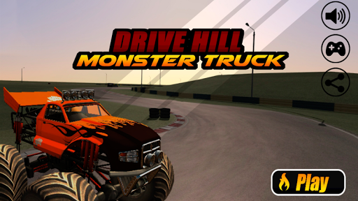 Drive Hill Monster Truck 3D