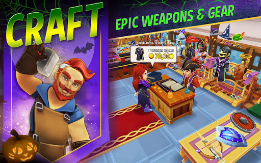Shop Titans: Epic Idle Crafter, Build & Trade RPG 2.2.1 screenshots 2