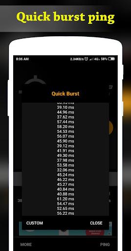 4G Mode | Ping Master 1.0.4 screenshots 2