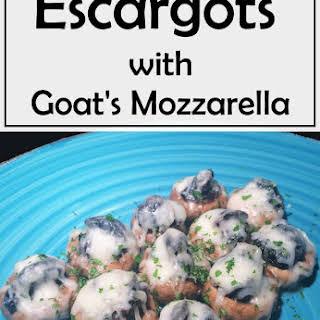 Escargots with Goat's Mozzarella.