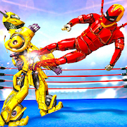 Grand Robot Hero Ring Fighting: Wrestling Games