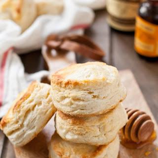 Vanilla Orange Buttermilk Biscuits