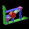 Linear Interpolation 2D icon