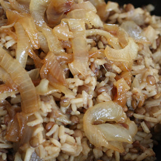 Lentils and Rice (Mujadara).