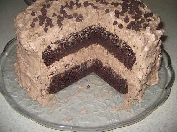 Extraordinary Chocolate Brownie Cake