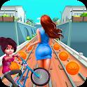 Princess Subway Bike Runner icon