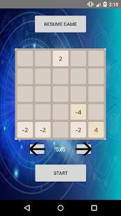 2048 Tetris - náhled