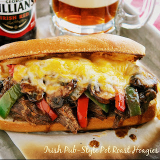 IRISH PUB-STYLE POT ROAST HOAGIES with POT O'GRAVY
