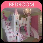 castle theme bedroom - princess Icon