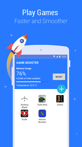 Game Booster - Play Games Smoother and Faster 1.8 screenshots 1