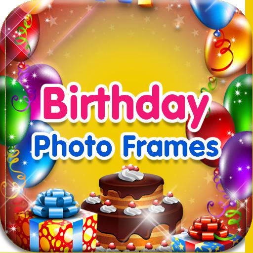 摄影の誕生日フォトフレーム LOGO-記事Game