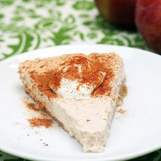 Apple Greek Yogurt Cheesecake.