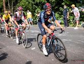 """Carapaz tevreden ondanks derde plek in rit (en wellicht ook in Tour): """"Ongelooflijke inspanning van de ploeg"""""""