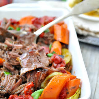 Slow Cooker Italian Pot Roast.