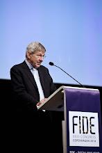Photo: Foto: Lizette Kabré.  Mr Ralf Hemmingsen, Rector of the University of Copenhagen