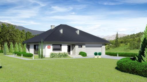 projekt Dom przy Rubinowej 5 bis