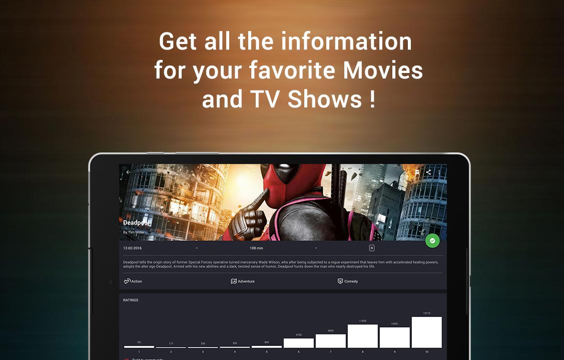 CineTrak: Your Movie and TV Show Diary- screenshot