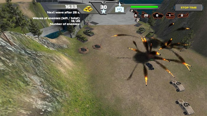 TD Global Strike-Tower Defence- screenshot