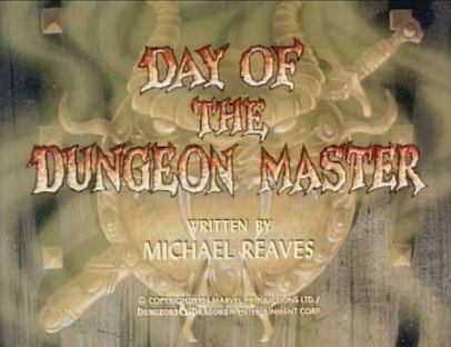 Day of the Dungeon Master title card