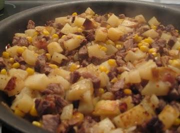 Old-fashioned Beef Hash - Dee Dee's Recipe