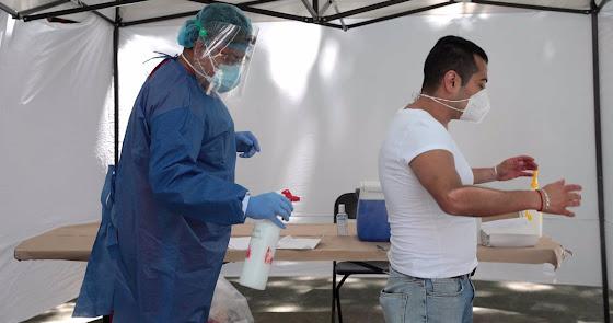 El coronavirus sigue imparable en Almería y vuelve a superar los 300 positivos