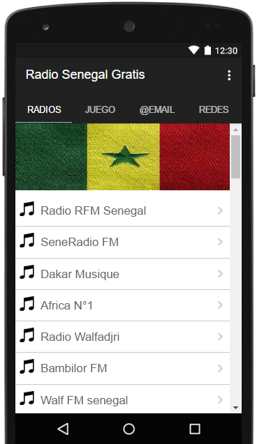 Radio Senegal Gratis- screenshot