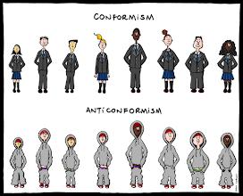Photo: http://www.bonkersworld.net/anticonformism/ #comic