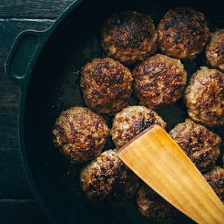 Oven-Baked, Stovetop-Browned Meatballs Recipe