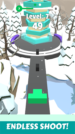 Stacky Tower Breaker: Fire Shooting Stack Ball 3D 2.6 screenshots 3
