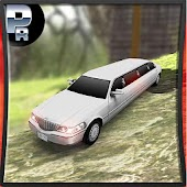 Real Limo Car Off Road Taxi Driving Simulator 2017