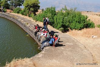 Photo: Unnecessary Hikers at Padmavati Talav
