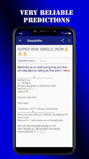 steadywin football & jackpot predictions screenshot 2