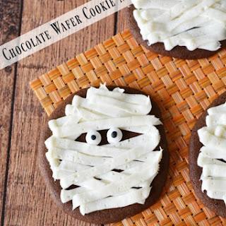 Chocolate Wafer Cookie Mummies Recipe