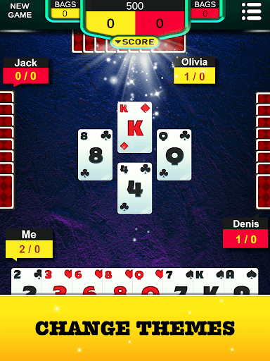 Spades - Classic Card Game! 1.0.1 screenshots 6