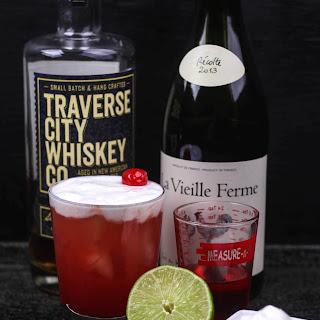 Cherry Whiskey Sour.